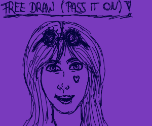 Free draw, pass it on
