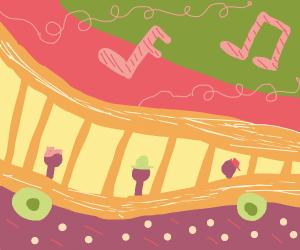Musical train