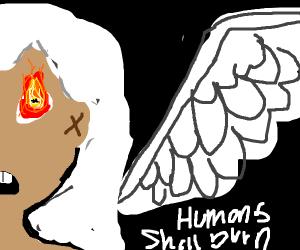 Angel doesn't feel like helping humanity