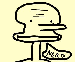 squidward being rude