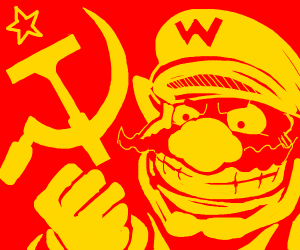 Wario As the Leader of the soviet union