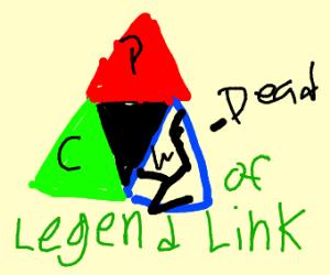 zelda is dead. legend of link is born