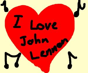 I love john lennon