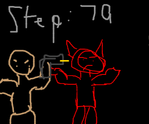 Step 79: kill the demon