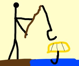 Fishing for an Umbrella