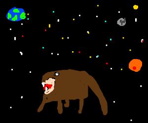 Tasmanian Devil in Space