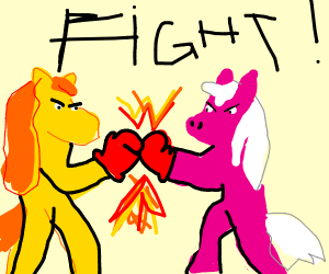 My little pony fight to the death