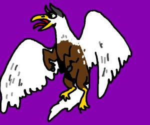 Seagull/bull hippogryphon