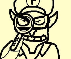 Detective Waluigi