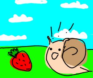 The happiest little slug you can imagine