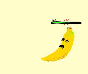banana takes damage