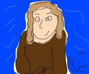 Abstract Mona Lisa