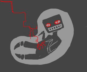 robot fetus