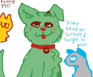 Petting PIO