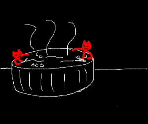 Demon hot tub