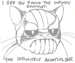 thanos' cat