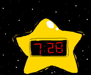 Star Alarm Clock