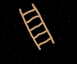 A ladder in space