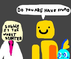 Sobble is the worst starter