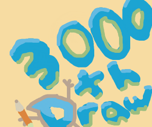 someone's 3000th draw