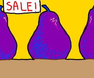 Violet pears for sale