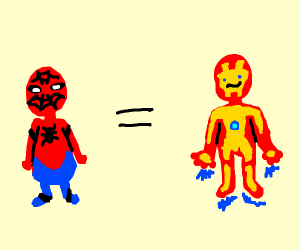 spiderman is iron man