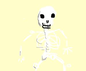 2018 Skeleton