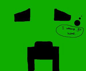 Scared Creeper