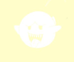Boo from Mario