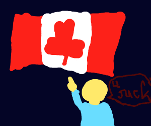 Guy hates Canada for no reason