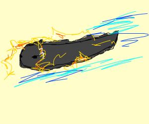SUPER fast electric eel