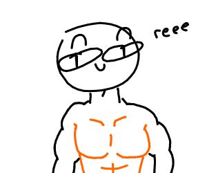 Orange chest