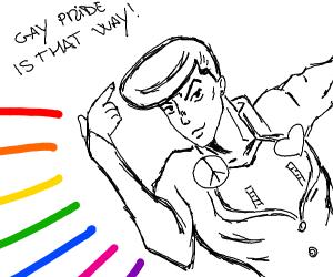 Where's the gay pride parade?