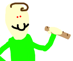 baldi boutta slap some kids