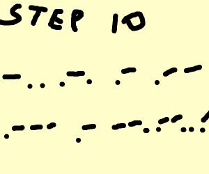 Step 9: Note To Self, Translate Morse Code