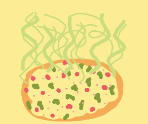 Smelly pizza