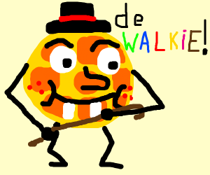 Cmon Alfie ze waffle,were to go on a walk now
