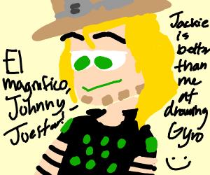 Johnny Joestar, el magnifico