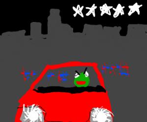 Kermitting grand theft auto
