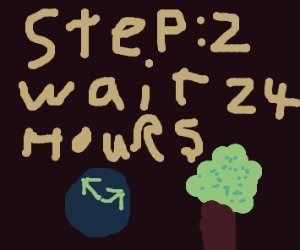 Step 1: Go to the forest
