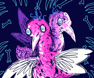 Two-headed bird thing