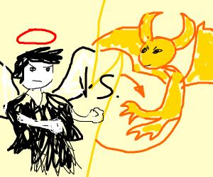 Angel of Darkness vs Demon of Light