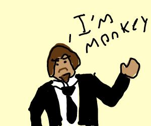 Ape man (does this look like John Wick)
