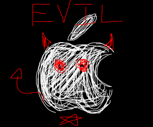 Apple (the company) is evil.