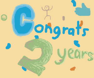 Congrats Doodle saved 2 years