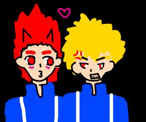 Kirishima & Bakugo
