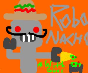 Robo Nacho (with guac!)