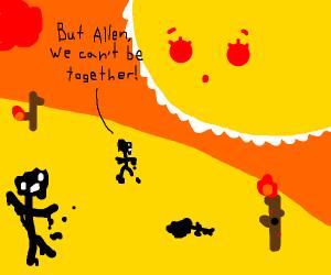All die de sun is allon