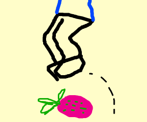 Jumping over a Dragonfruit