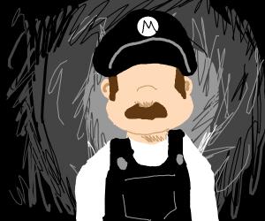 Mario with no face
